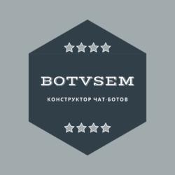 Удобный конструктор чат-ботов BotVsem
